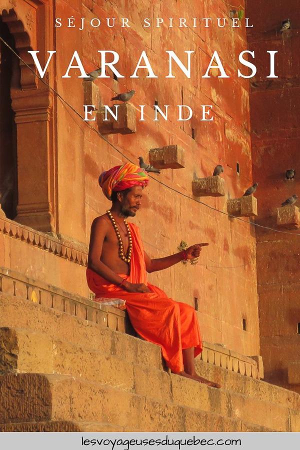 Varanasi en Inde : mon séjour émouvant dans la capitale spirituelle | Varanasi | Varanasi en Inde | Voyage à Varanasi | Gange à Varanasi | Que visiter à Varanasi | Visiter Varanasi | Inde | Benares | Que faire à Varanasi et voir | Quoi faire à Varanasi et voir | spiritualité à Varanasi #varanasi #benares #inde #india #voyage #gange #hindouisme