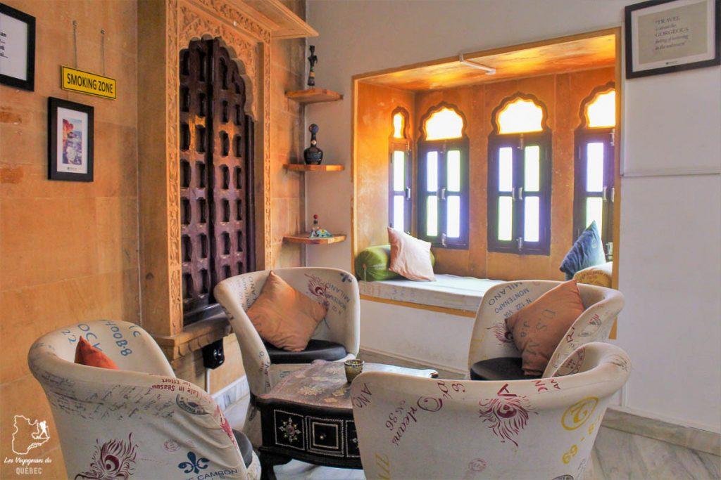 L'auberge de jeunesse HosteLaVie à Jodhpur au Rajasthan dans mon article Pourquoi choisir une chambre en dortoir dans une auberge de jeunesse #dortoir #aubergedejeunesse #backpacker #voyage #petitbudget