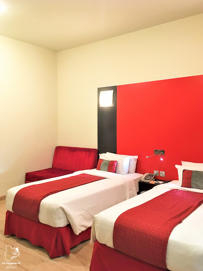 L'hôtel Ramada, un endroit où dormir lors d'un transit à Doha dans notre article Visiter Doha au Qatar: Que faire pendant une escale à Doha de 24 heures #doha #qatar #voyage #escale
