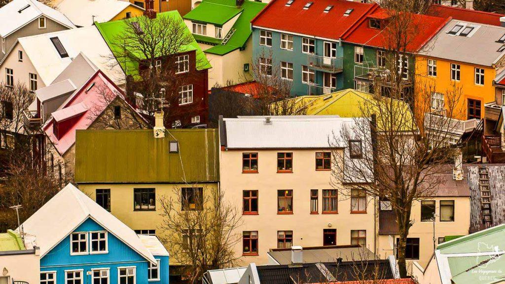 Ville de Rekyavik en Islande dans notre article Où partir seule en tant que femme : 12 destinations pour un voyage en solo #voyage #femme #voyagersolo #islande