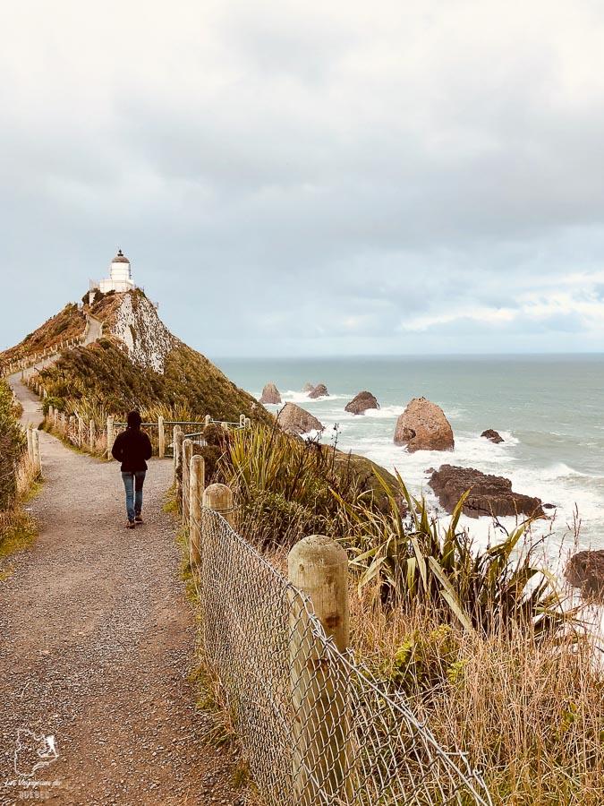 Le Nugget Lighthouse dans le Southland District en Nouvelle-Zélande dans notre article Road trip en Nouvelle-Zélande : Mes 5 semaines à vivre sur la route #nouvellezelande #roadtrip #oceanie #voyage