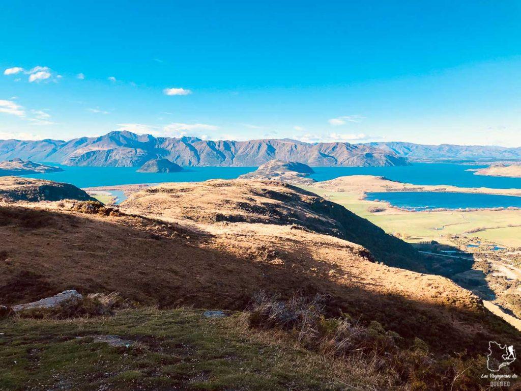 Randonnée au Diamond Lake à Wanaka en Nouvelle-Zélande dans notre article Road trip en Nouvelle-Zélande : Mes 5 semaines à vivre sur la route #nouvellezelande #roadtrip #oceanie #voyage