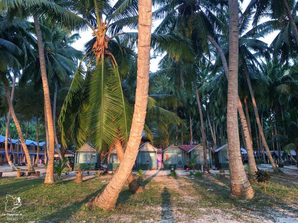 Bungalows sur Havelock aux îles Andaman dans notre article Havelock aux îles Andaman en Inde : Évasion parfaite sur une île indienne #havelock #ile #andaman #paradis #inde #voyage