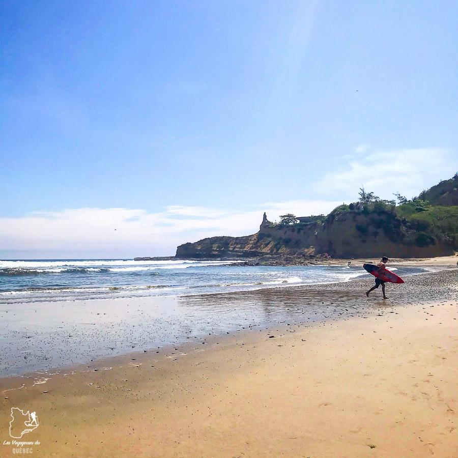 Surf en Équateur à La Punta à Montañita dans notre article Surf en Équateur : Mon expérience dans un camp de surf à Montañita #surf #equateur #campdesurf #montanita