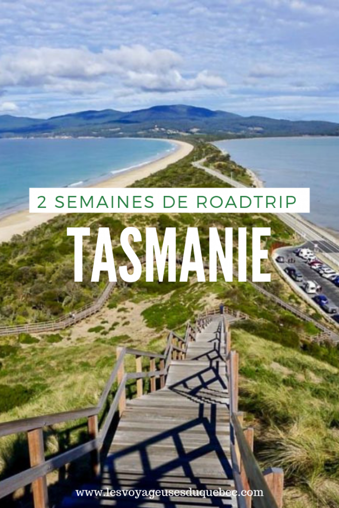 Itinéraire de roadtrip en Tasmanie