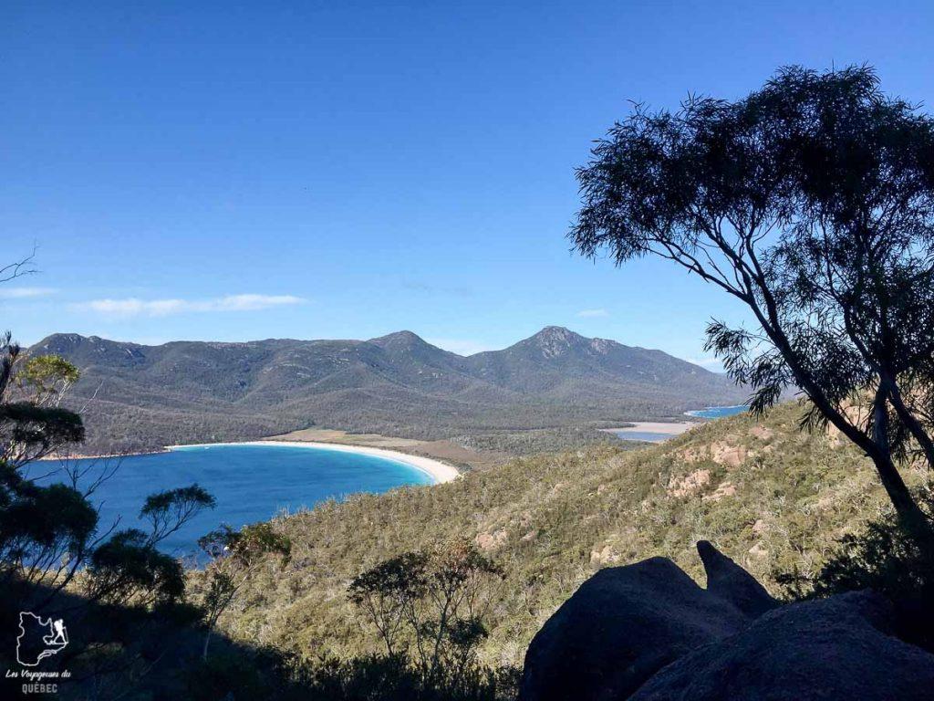 Parc national de Fraycinet en Tasmanie dans notre article Que faire en Tasmanie : Mon itinéraire de road trip à travers l'île de Tasmanie #tasmanie #australie #ile #voyage #roadtrip