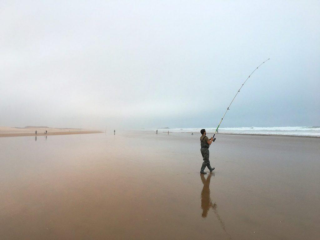 Plage d'Agadir au Maroc dans notre article Itinéraire au Maroc : Que faire au Maroc et visiter en tant que femme #maroc #itineraire #voyageaufeminin #femme #voyage #Agadir #plage