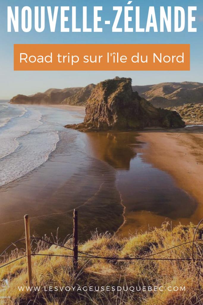 Roadtrip sur l'île du Nord en Nouvelle-Zélande