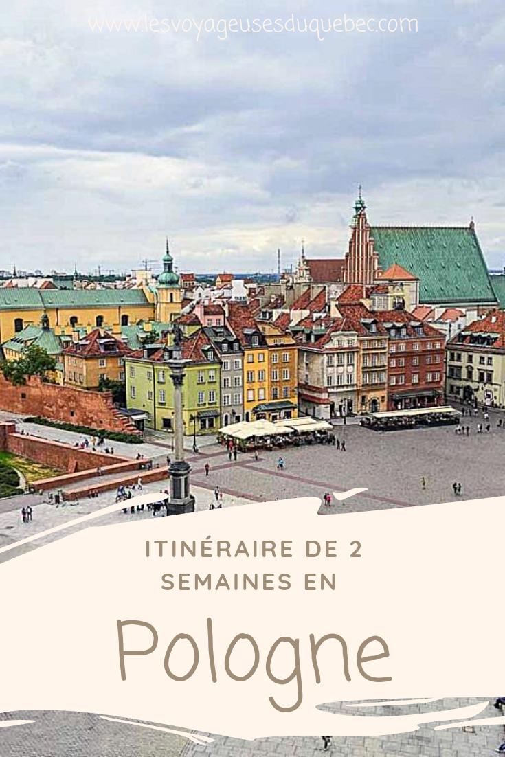 Vous prévoyez visiterla Pologne?Jevous présente ici mon itinéraire en Pologne de 2 semaines afin de vous aider à savoirque faire en Pologne et que voir dans ce pays européen souvent délaissé des touristes québécois.