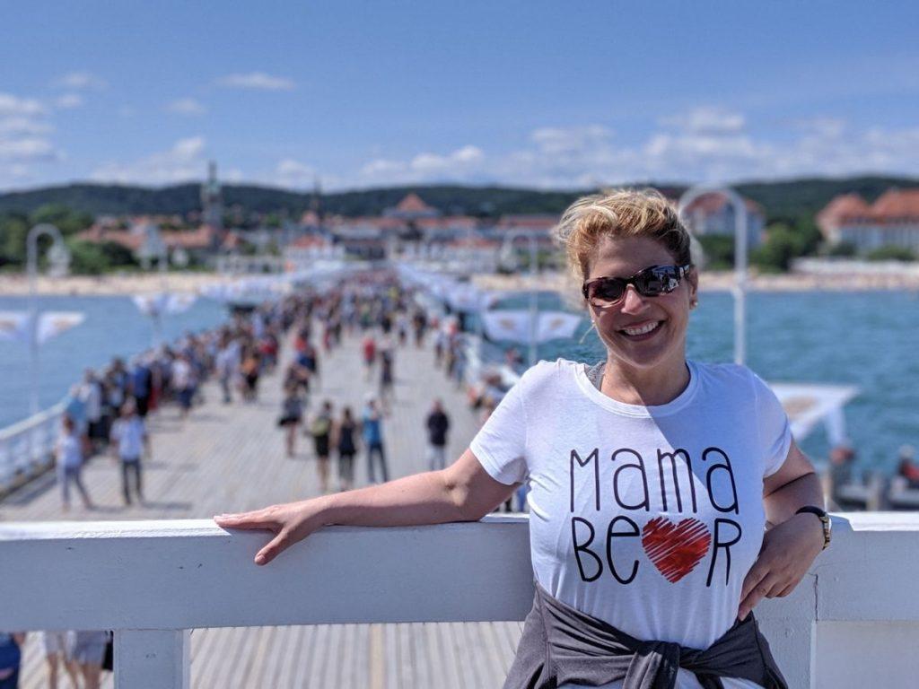 La station balnéaire de Sopot en Pologne dans notre article Que faire en Pologne et voir : Itinéraire de 2 semaines à visiter la Pologne #pologne #voyage #europe #itineraire #sopot