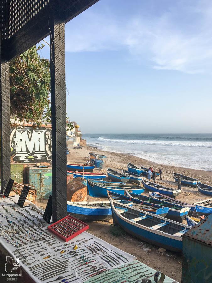Taghazout à visiter au Maroc dans notre article Itinéraire au Maroc : Que faire au Maroc et visiter en tant que femme #maroc #itineraire #voyageaufeminin #femme #voyage #Taghazout