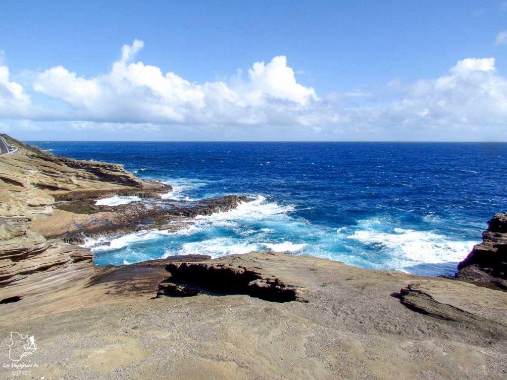 Côte Est de l'île d'Oahu dans notre article L'île d'Oahu à Hawaii : Activités incontournables à faire lors d'un road trip #oahu #roadtrip #ile #hawaii