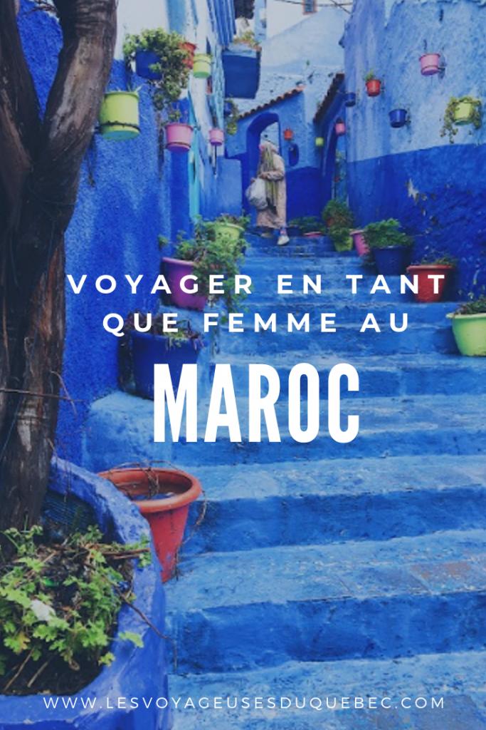 Mon itinéraire au Maroc pour un voyage en tant que femme