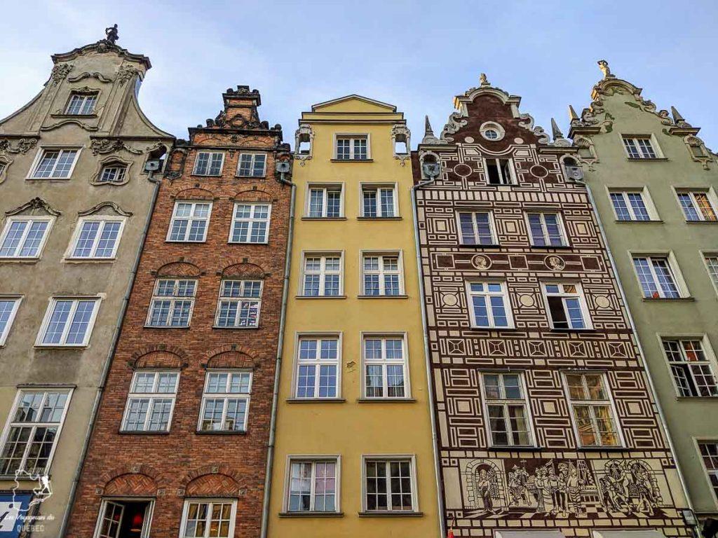 Les demeures de style flamand-hollandais de Gdansk dans notre article Que faire en Pologne et voir : Itinéraire de 2 semaines à visiter la Pologne #pologne #voyage #europe #itineraire #varsovie