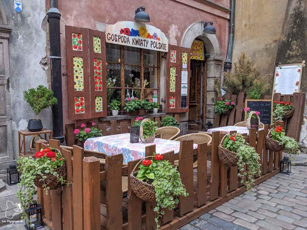 Gastronomie de Varsovie dans notre article Que faire en Pologne et voir : Itinéraire de 2 semaines à visiter la Pologne #pologne #voyage #europe #itineraire #varsovie