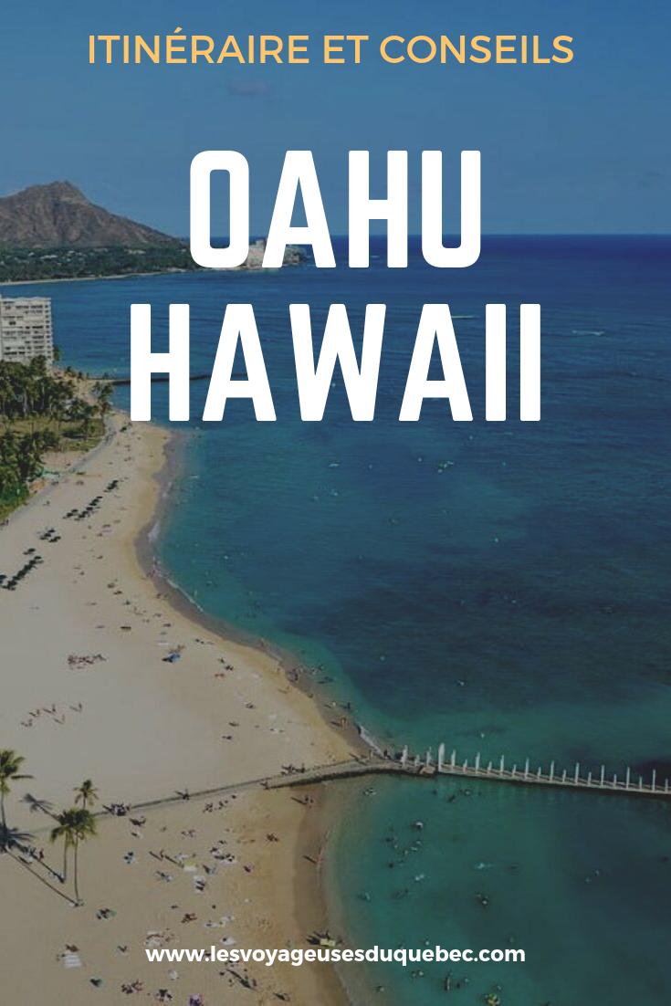 L'île d'Oahu à Hawaii : Activités incontournables à faire lors d'un road trip