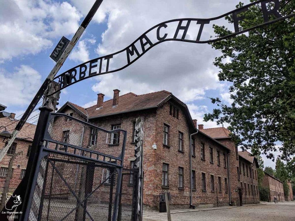 Le camp de concentration de Auschwitz en Pologne dans notre article Que faire en Pologne et voir : Itinéraire de 2 semaines à visiter la Pologne #pologne #voyage #europe #itineraire #auschwitz