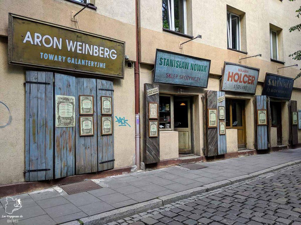 Le quartier juif de Cracovie dans notre article Que faire en Pologne et voir : Itinéraire de 2 semaines à visiter la Pologne #pologne #voyage #europe #itineraire #cracovie
