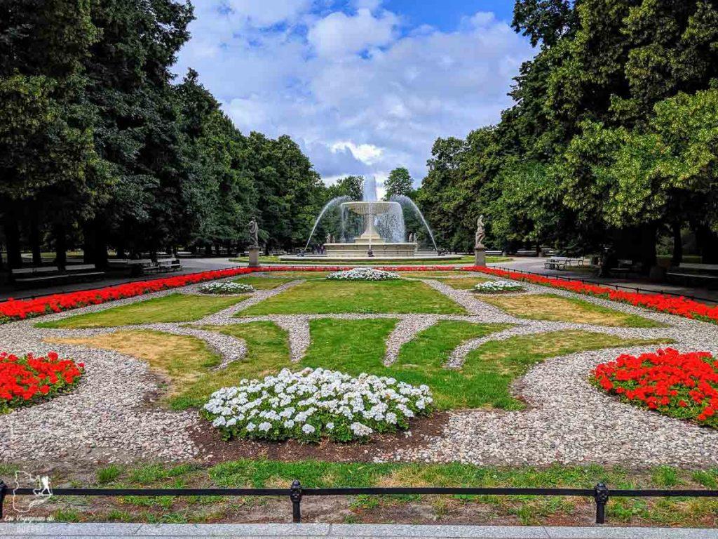Le jardin de Saxe à Varsovie dans notre article Que faire en Pologne et voir : Itinéraire de 2 semaines à visiter la Pologne #pologne #voyage #europe #itineraire #varsovie