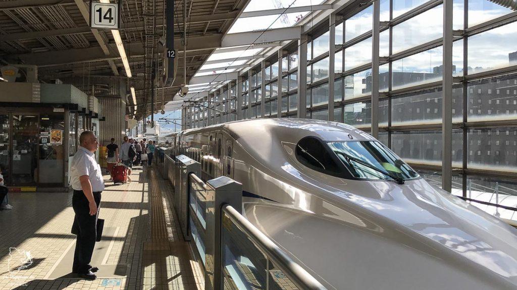 Voyager en TGV pour visiter le Japon en train dans notre article Visiter le Japon : Mes trucs et astuces pour un voyage au Japon réussi #japon #asie #voyage #train