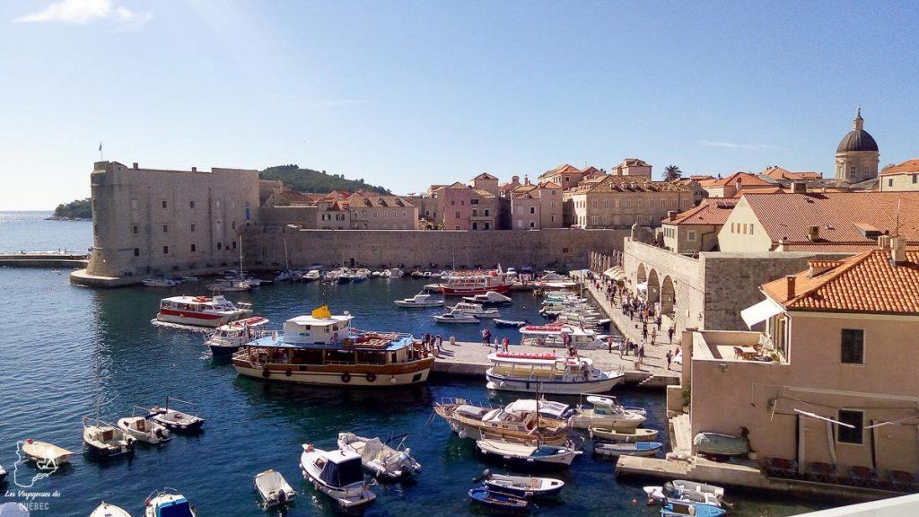 La ville de Dubrovnik dans notre article Visiter la Croatie : Où aller et que faire en Croatie entre Zadar à Dubrovnik #croatie #balkans #europe #voyage #dubrovnik