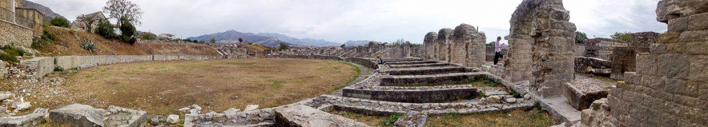 Les ruines de Solona dans notre article Visiter la Croatie : Où aller et que faire en Croatie entre Zadar à Dubrovnik #croatie #balkans #europe #voyage #salona
