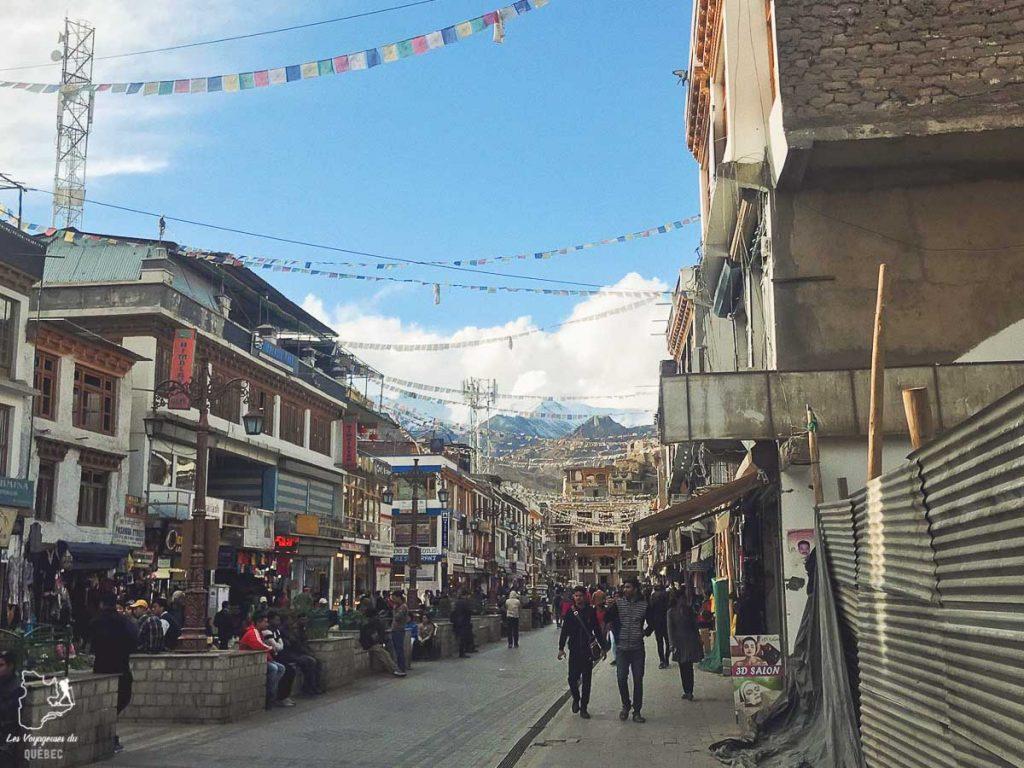 Ville de Leh en Inde du Nord dans notre article Inde du Nord : Itinéraire et conseils pour un voyage dans le Nord de l'Inde #inde #indedunord #norddelinde #asie #voyage #cachemire #himachalpradesh