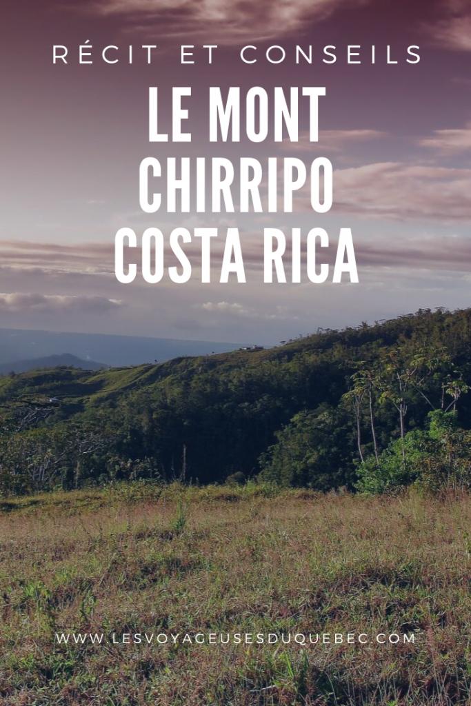 Ascension du Mont Chirripo au Costa Rica