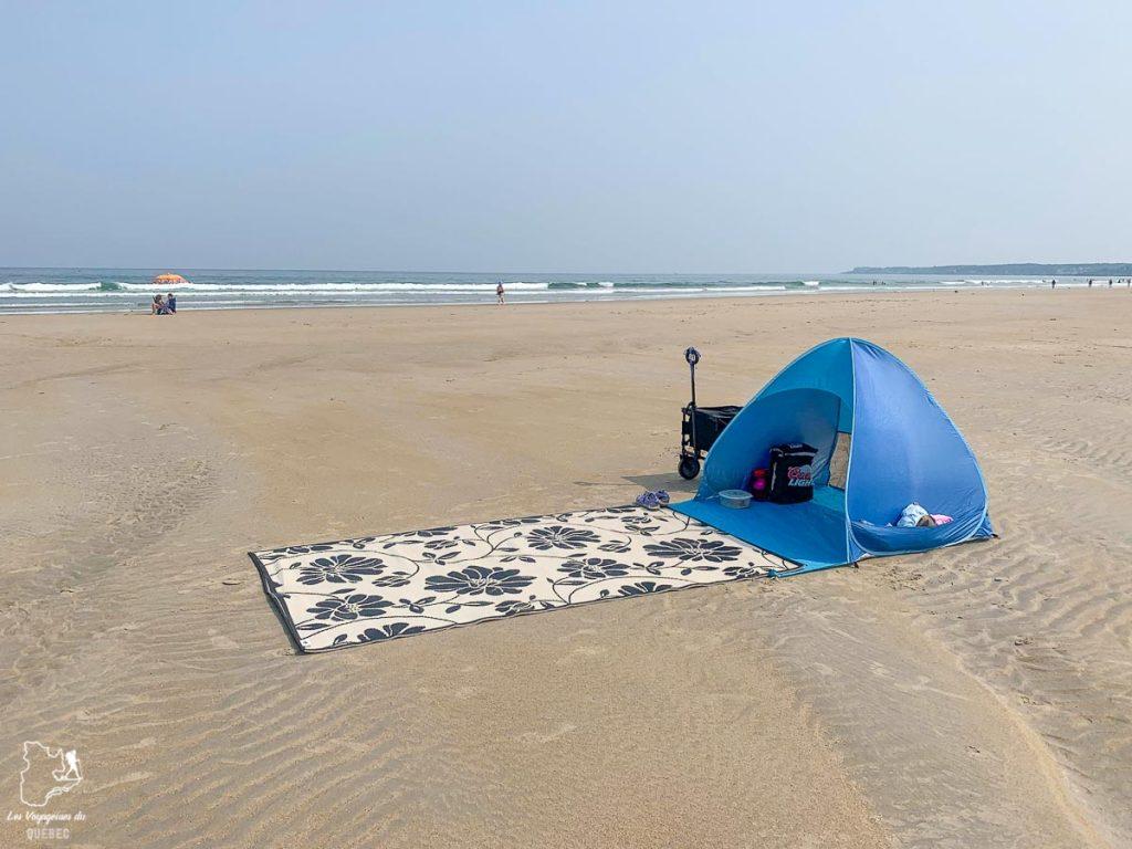 Journée à la plage d'Ogunquit en famille dans notre article Ogunquit dans le Maine : petit guide pour des vacances en famille réussies #ogunquit #maine #usa #etatsunis #plage #famille #vacances