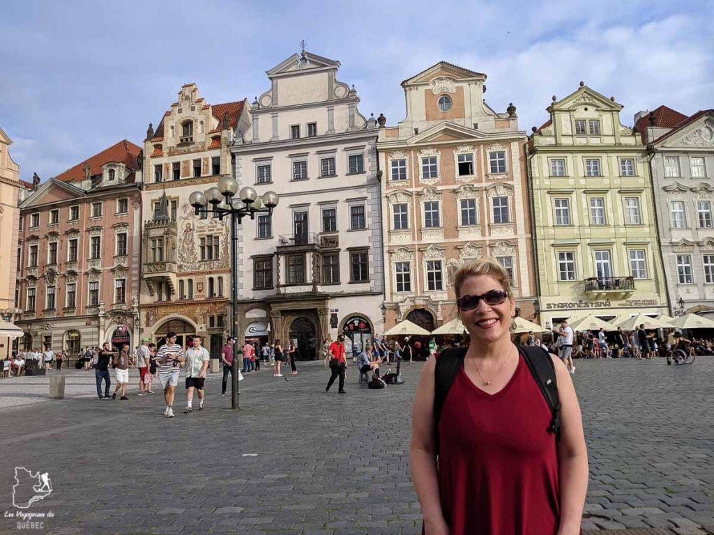 Vieille ville de Prague, à visiter lors d'un week-end dans notre article Que faire à Prague : Les incontournables pour visiter Prague en un week-end #prague #republiquetcheque #citytrip #week-end #europe #voyage
