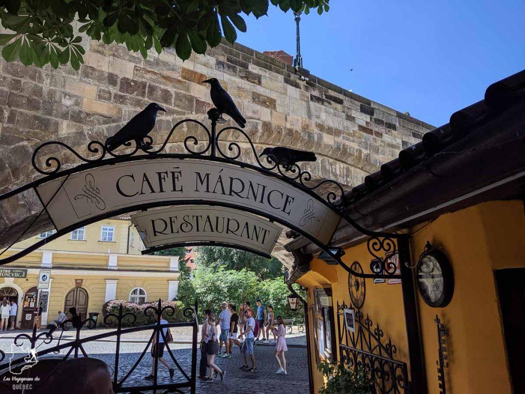 Café Marnice Mala Strana, un incontournable à Prague dans notre article Que faire à Prague : Les incontournables pour visiter Prague en un week-end #prague #republiquetcheque #citytrip #week-end #europe #voyage