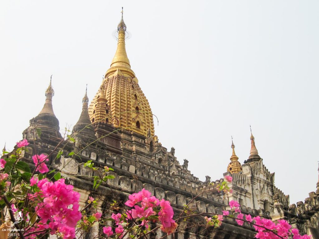 Temple Ananda à Bagan à visiter au Myanmar dans notre article Voyage au Myanmar : Mes expériences et lieux à visiter au Myanmar #myanmar #birmanie #asie #voyage #itineraire #bagan