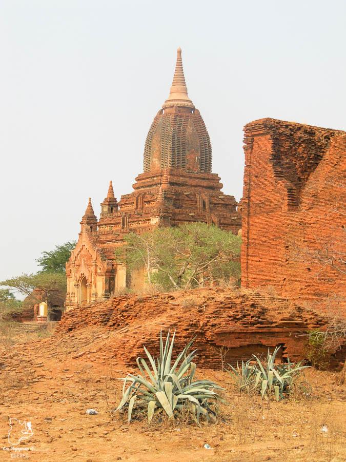 Temples de Bagan, un incontournable à visiter au Myanmar dans notre article Voyage au Myanmar : Mes expériences et lieux à visiter au Myanmar #myanmar #birmanie #asie #voyage #itineraire #bagan