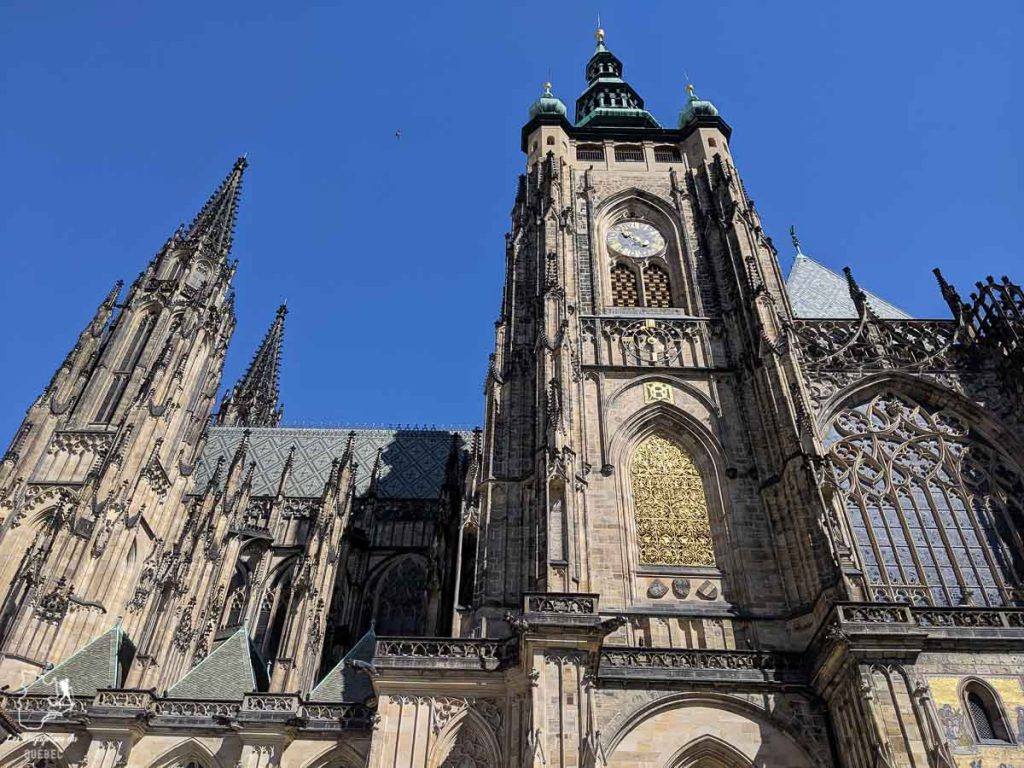 Cathédrale Saint Guy, à voir lors d'un week-end à Prague dans notre article Que faire à Prague : Les incontournables pour visiter Prague en un week-end #prague #republiquetcheque #citytrip #week-end #europe #voyage