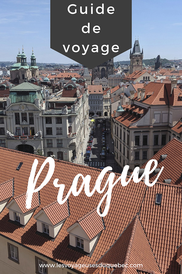 Que faire à Prague : Les incontournables pour visiter Prague en un week-end #prague #republiquetcheque #citytrip #week-end #europe #voyage