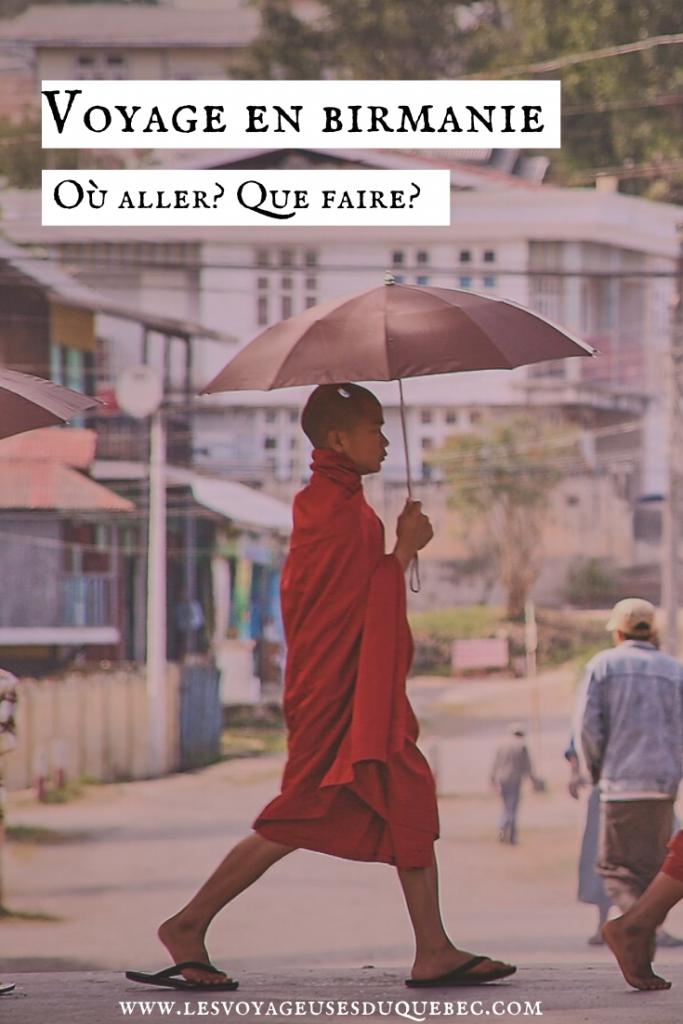 Voyage au Myanmar : que faire et que voir