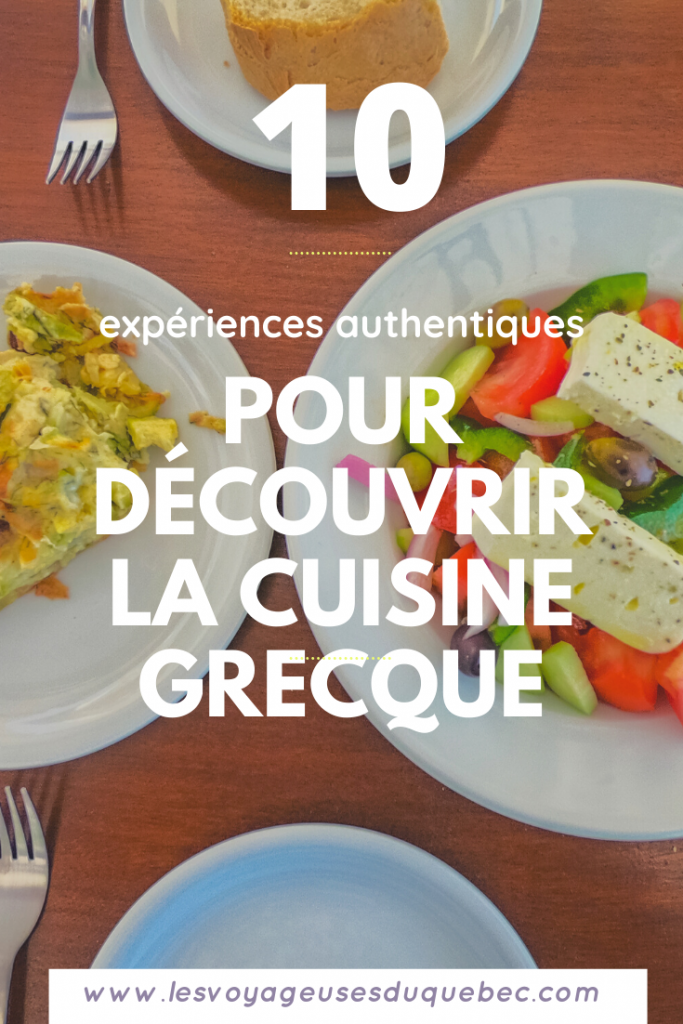 La cuisine grecque : 10 expériences culinaires à vivre lors d'un voyage en Grèce