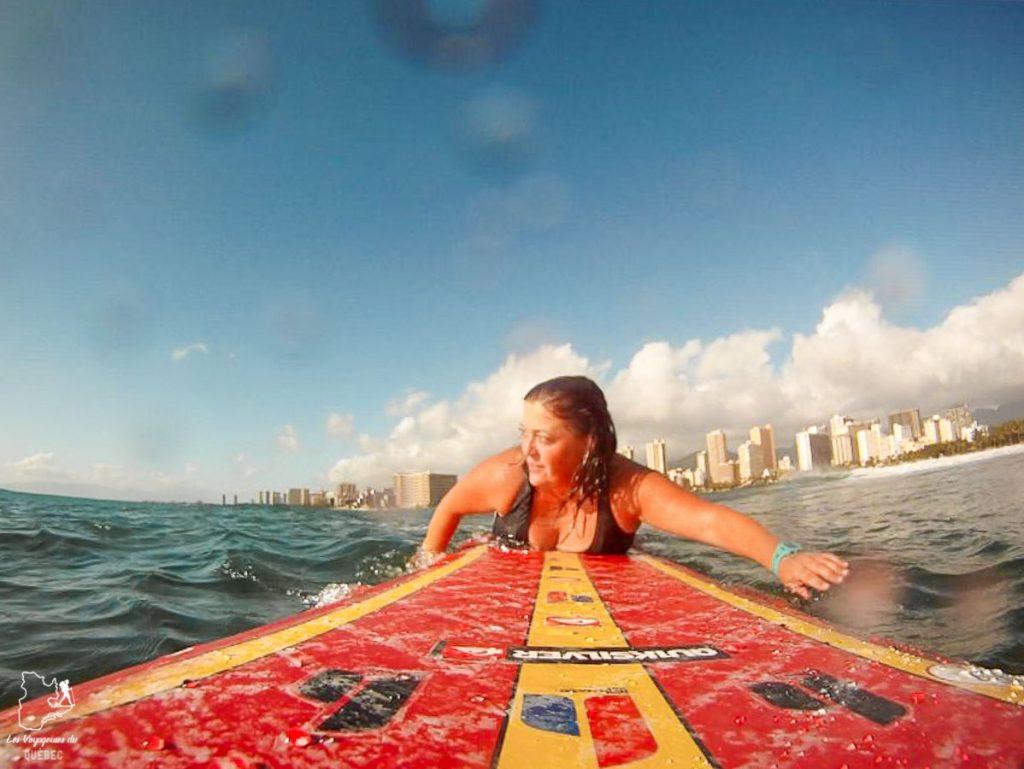 Old man's surf spot à Waikiki dans notre article Le surf à Oahu : Mes plus beaux spots de surf sur cette île d'Hawaii #surf #oahu #waikiki #usa #voyage #spotdesurf