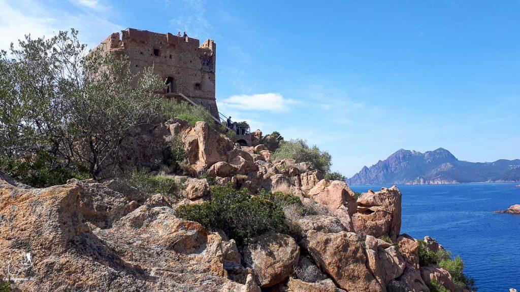 Tour génoise de Porto en Corse dans notre article Faire le Gr20 en Corse : Tout savoir sur cette longue randonnée en Corse #corse #GR20 #France #voyage #trek #randonnee