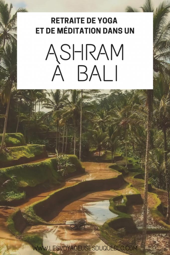 Retraite de méditation dans un Ashram à Bali