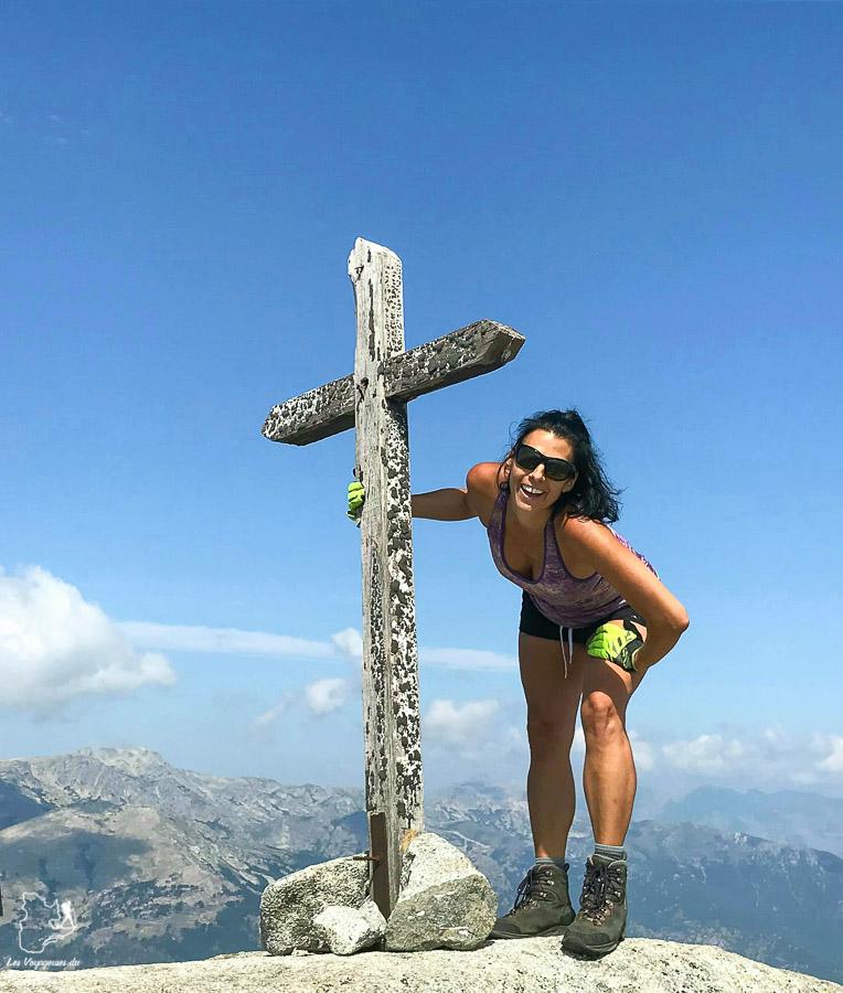 Sommet du Punta Cappella lors de la randonnée sur le Gr20 en Corse dans notre article Faire le Gr20 en Corse : Tout savoir sur cette longue randonnée en Corse #corse #GR20 #France #voyage #trek #randonnee