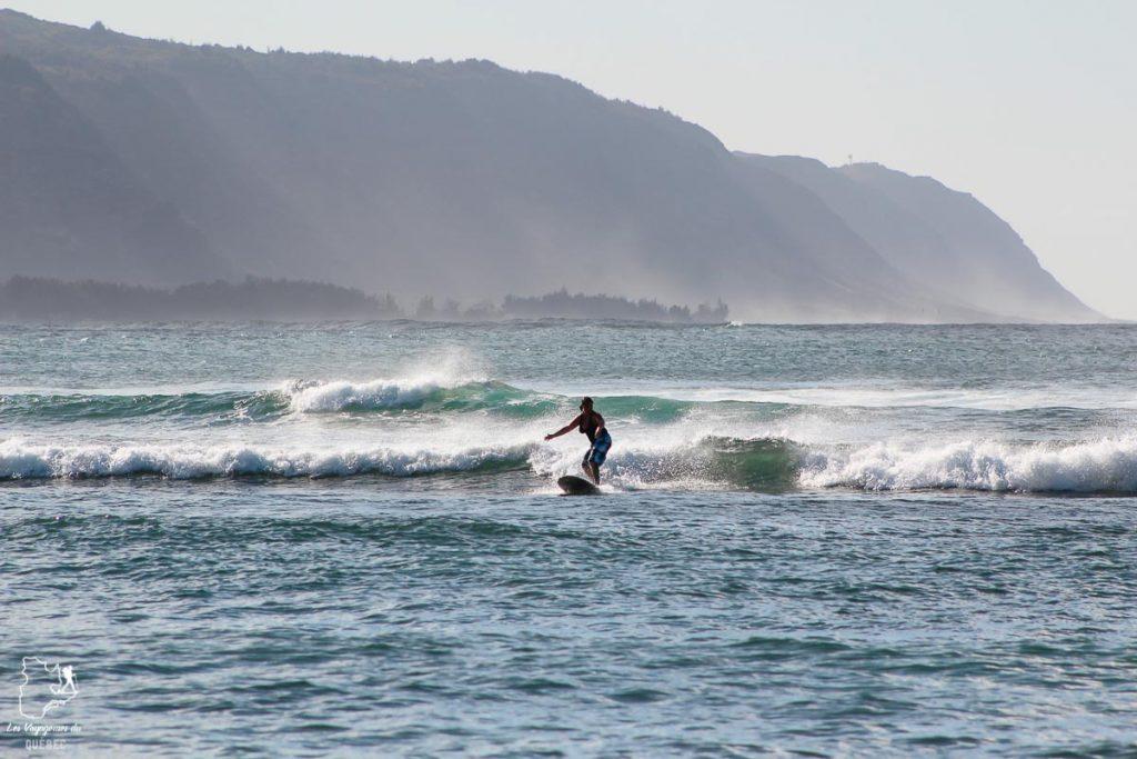 Punea'a Point surf break sur le North Shore d'Oahu dans notre article Le surf à Oahu : Mes plus beaux spots de surf sur cette île d'Hawaii #surf #oahu #waikiki #usa #voyage #spotdesurf
