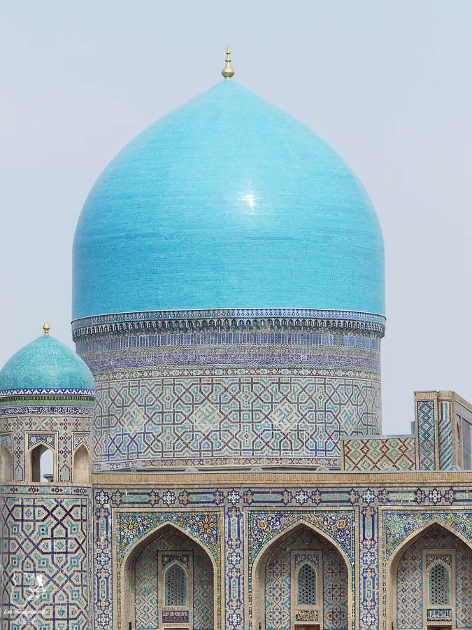 À visiter en Ouzbékistan : Les Médersas de Samarcande dans notre article Visiter l'Ouzbékistan : 7 incontournables à voir lors d'un voyage en Ouzbékistan #ouzbekistan #asiecentrale #routedelasoie #voyage #samarcande #medersas
