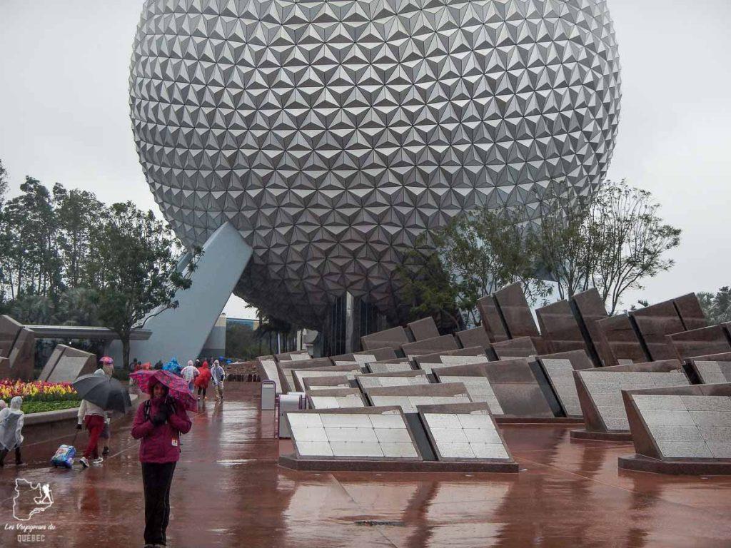 Parc d'attractions Epcot à Walt Disney World à Orlando dans notre article Walt Disney World à Orlando : Le meilleur de ce parc d'attractions en Floride #waltdisney #waltdisneyworld #floride #disney #parcattraction #orlando