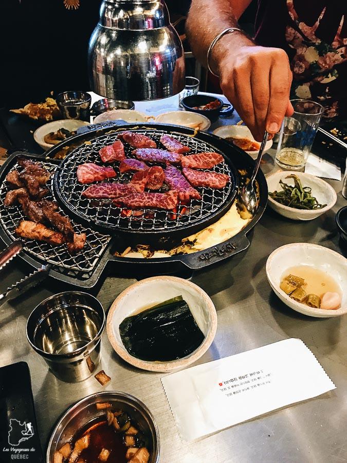 Manger un BBQ coréen à Séoul dans notre article Visiter Séoul : Que faire à Séoul, la capitale de la Corée du Sud #seoul #coreedusud #asie #voyage