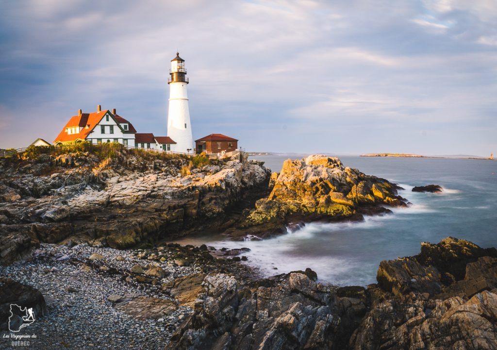 Portland Head Lighthouse, à visiter hors de Portland dans notre article Visiter Portland : Quoi faire à Portland dans le Maine pour un weekend gourmand #Portland #Maine #USA #voyage #foodtour
