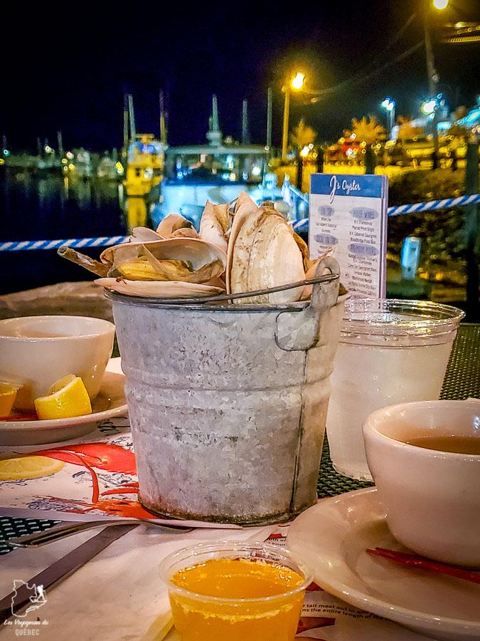 Chaudière à palourdes chez J's Oyster à Portland dans le Maine dans notre article Visiter Portland : Quoi faire à Portland dans le Maine pour un weekend gourmand #Portland #Maine #USA #voyage #foodtour