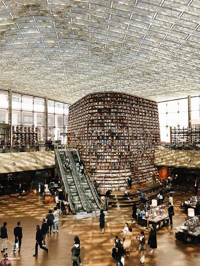Bibliothèque du Starfield COEX mall de Séoul dans notre article Visiter Séoul : Que faire à Séoul, la capitale de la Corée du Sud #seoul #coreedusud #asie #voyage