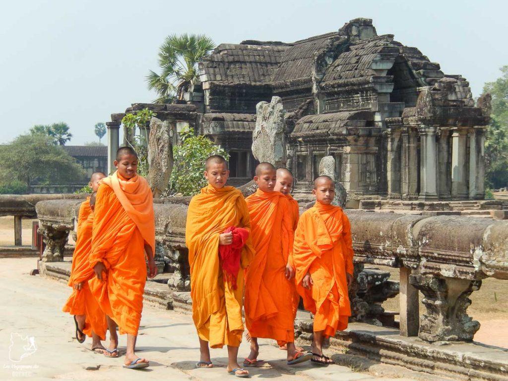 Angkor Wat au Cambodge, pays visité lors de mon tour du monde d'un an dans notre article Mon tour du monde d'un an à 50 ans : le voyage d'une vie #tdm #tourdumonde #voyage #voyageunan #senior