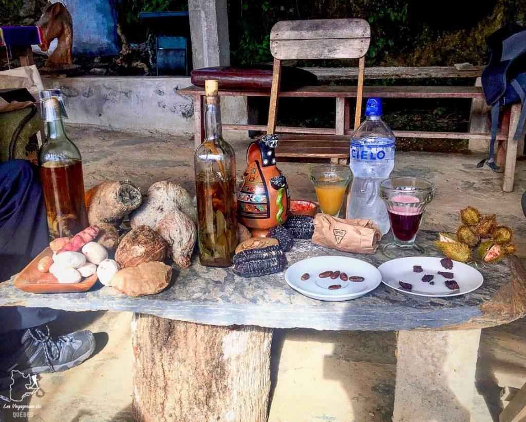 Dégustation locale au Pérou lors d'un voyage sac à dos en famille dans notre article Voyage sac à dos en famille : Pour vous aider à franchir le pas #famille #sacados #voyageenfamille #voyage